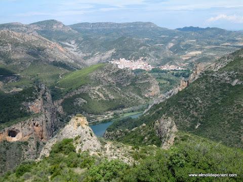 Camarasa des de Santa Maria del Castell