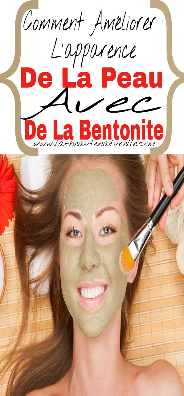 Comment améliorer l'apparence de la peau avec de la bentonite