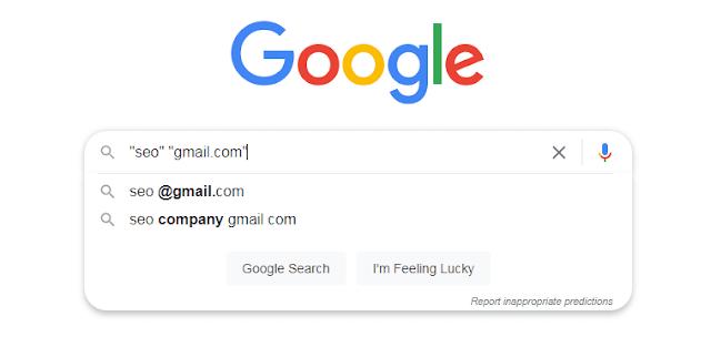جمع رسائل البريد  من جوجل