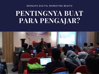 Digital Marketing untuk Dosen
