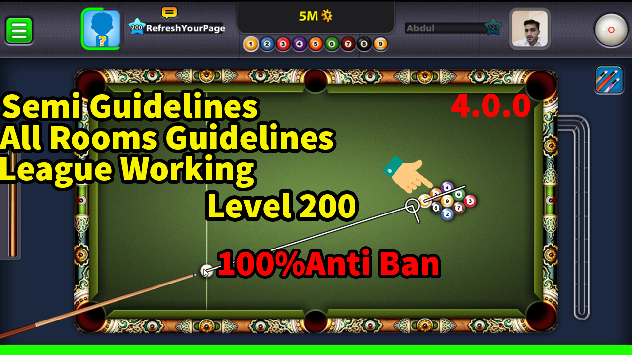 8 Ball Pool 4 0 0 (200 Level Mod By Mairaj Ahmed) - The