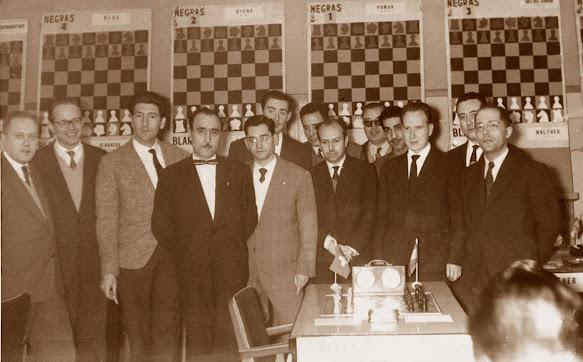 El equipo de España en la Olimpiada de Oberhausen 1961