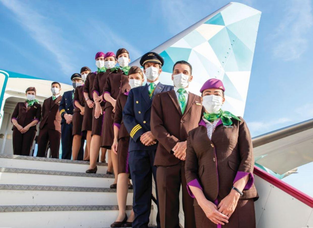 الاتحاد للطيران تشغّل رحلتها البيئية الأولى في 2021