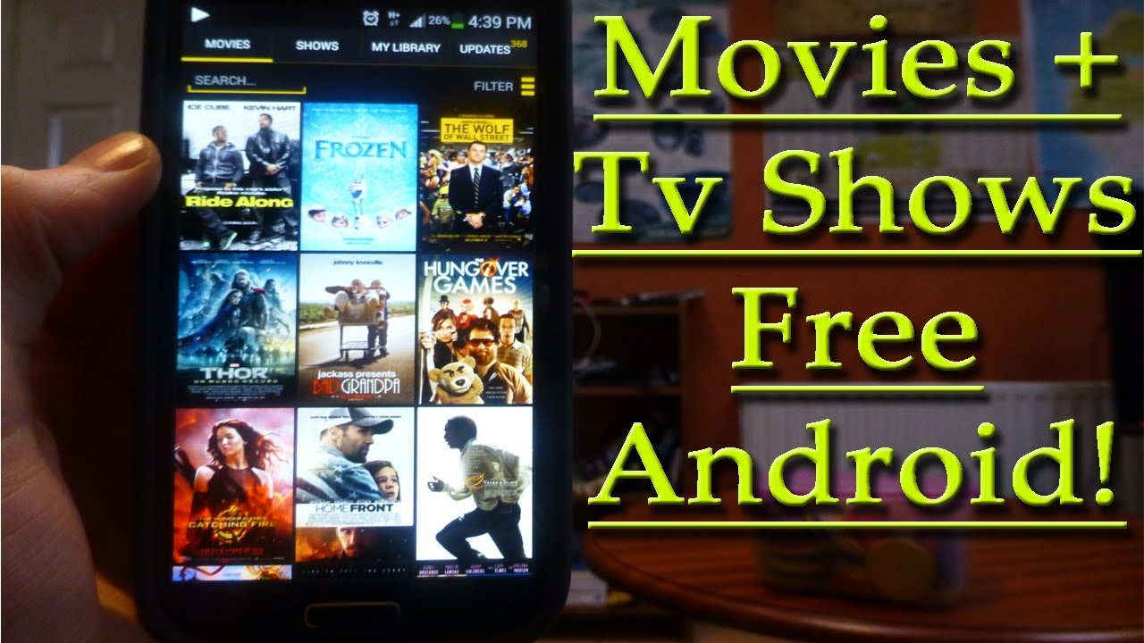 had best android app to watch tv shows free will
