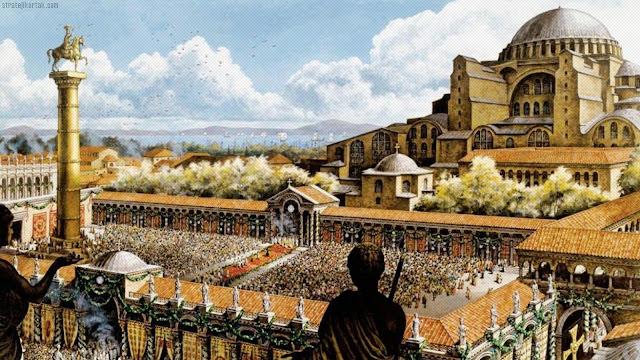 Bizans İmp Dönemi Ayasofya