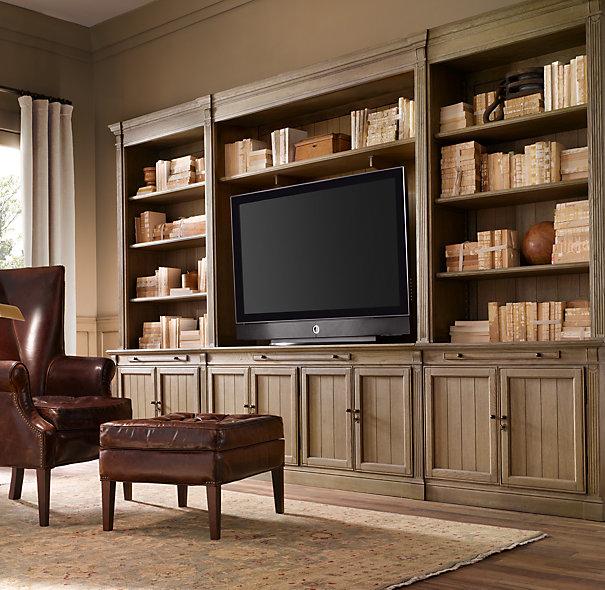 Restoration Hardware Entertainment Center: TV Design Solutions