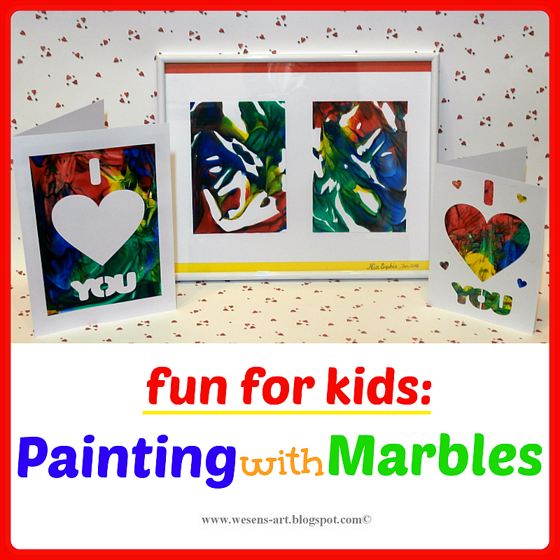 Painting with Marbles  wesens-art.blogspot.com