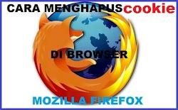Cara Mudah Hapus Cookie Pada Browser Mozilla Firefox Terbaru