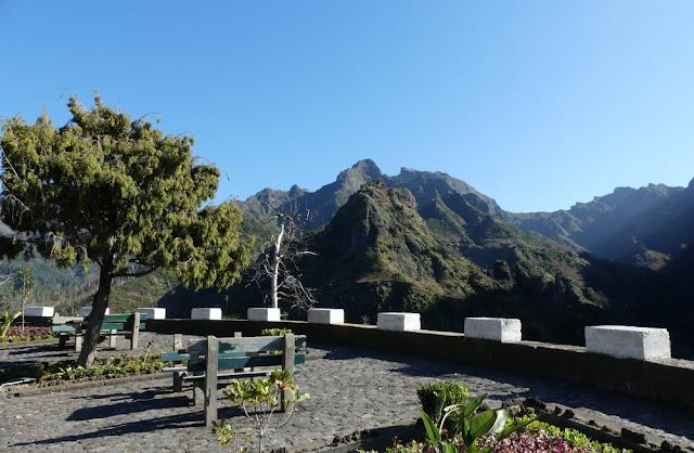 Aussichtspunkt auf Madeira