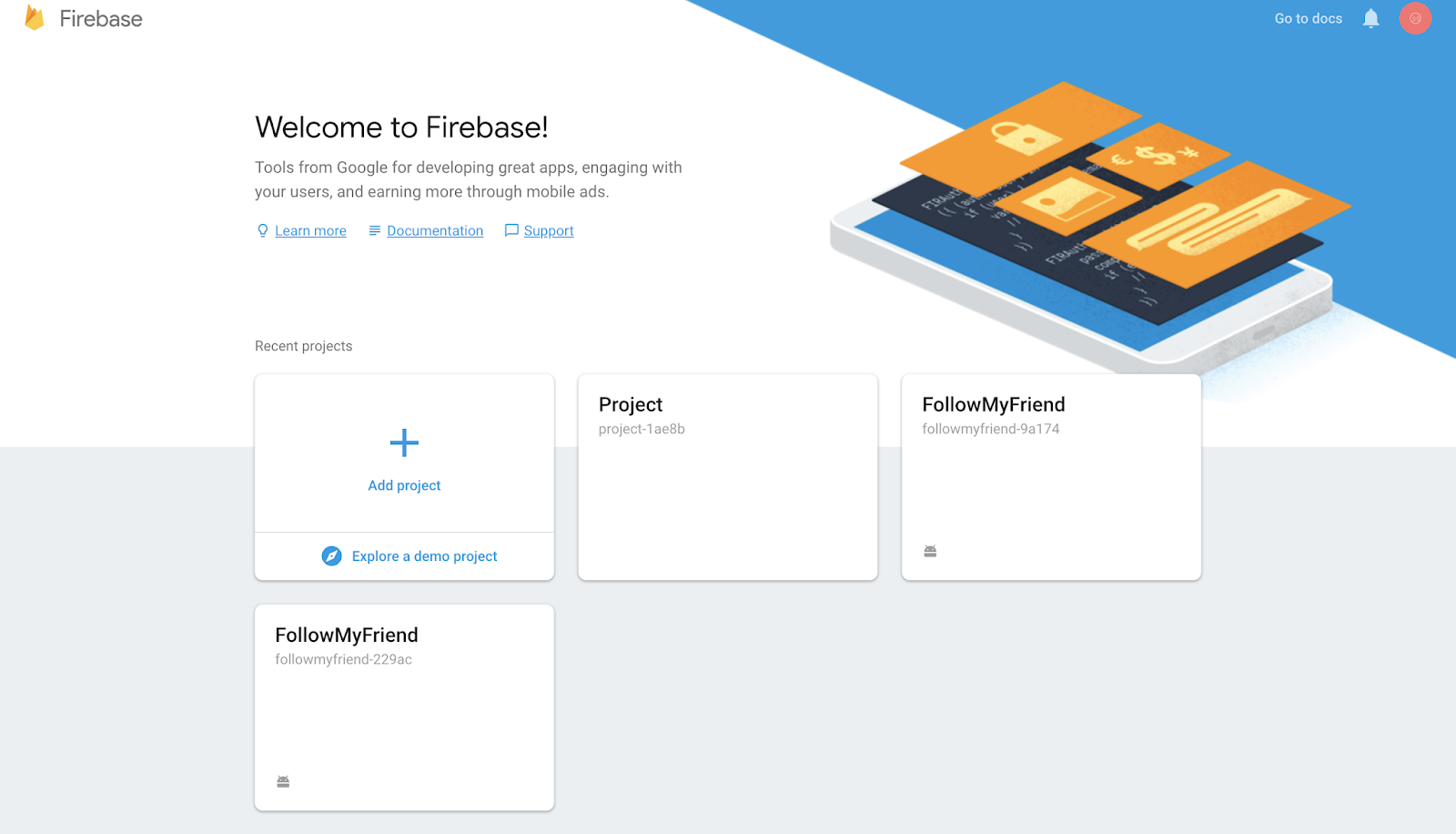 Firebase Authentication with Android - Setup - Android Monks