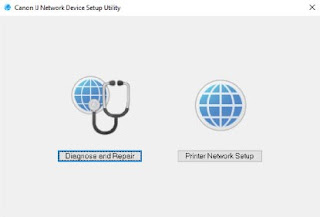 Canon IJ Network Device Setup Utility