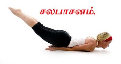 Salaphasana yoga