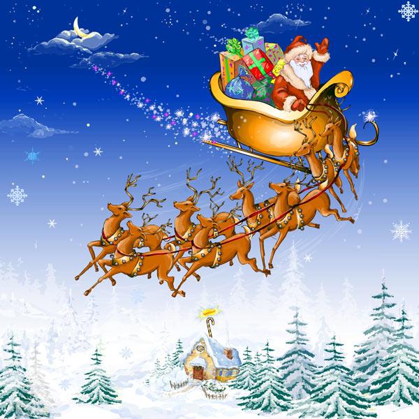 hoeveel rendieren heeft de kerstman