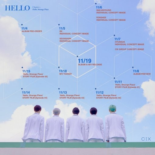 Rookie group CIX announces a surpirse comeback on November 19th with a new album!
