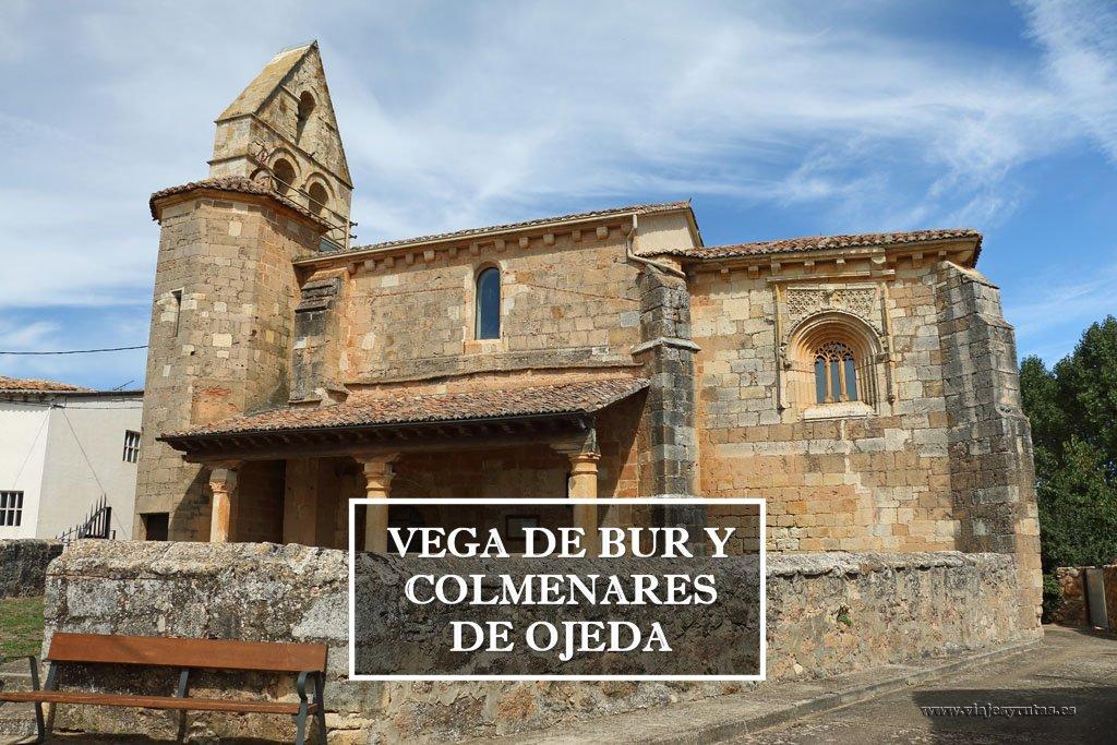 Románico de la Ojeda: Vega de Bur y Colmenares