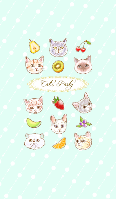 Cat's Party <Fruit version>