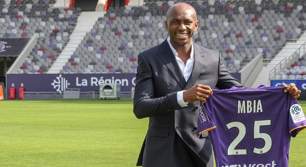 France: Stéphane Mbia quitte Toulouse Football Club