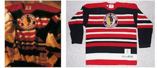 NHL CCM Heritage Jersey Collection - Chicago Blackhawks circa 1940