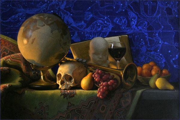 Conor Walton Still Life Paintings