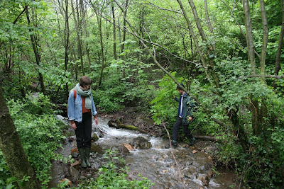 Flussumleitung in Shipka