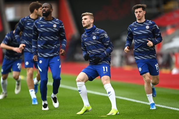 Timo Werner agrees with Antonio Rudiger about Robert Lewandowski amid Chelsea transfer 'contact'