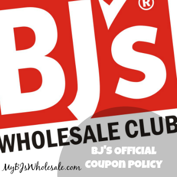 Official BJ's Coupon Policy