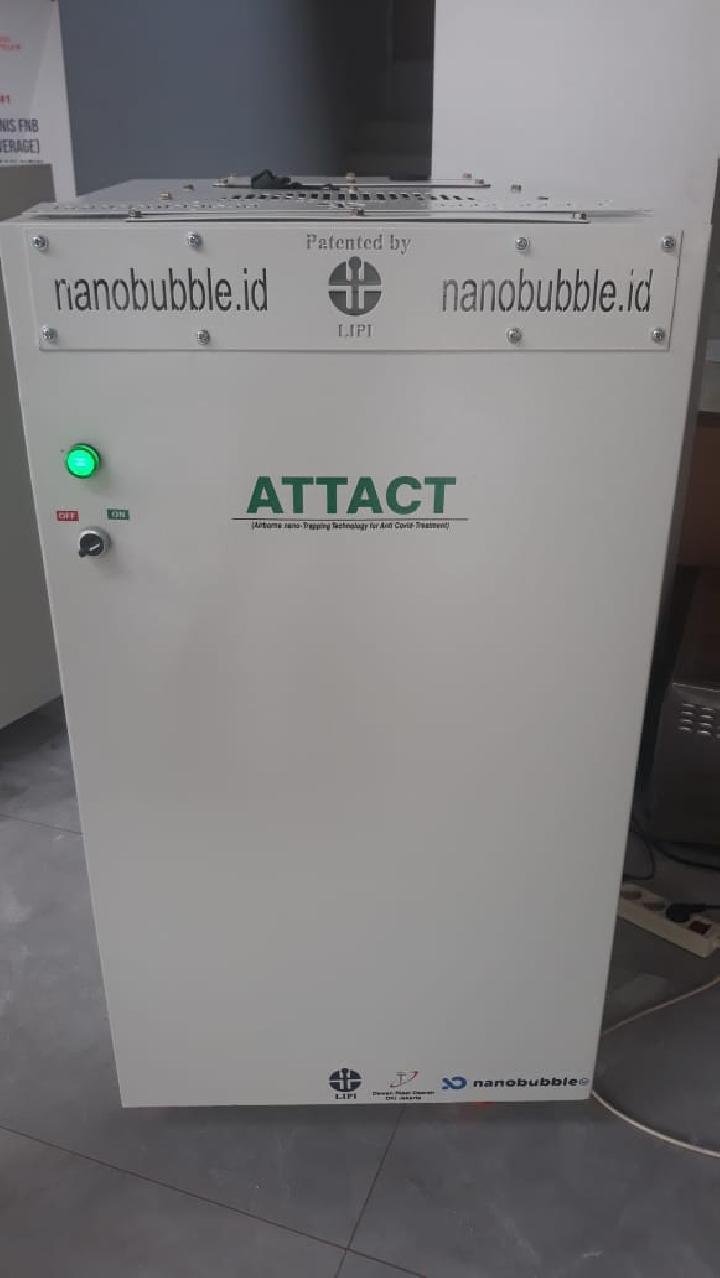 Mesin Pembersih Udara Anti Virus Attact