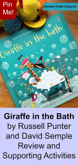 Giraffe in the Bath by Russell Punter and David Semple