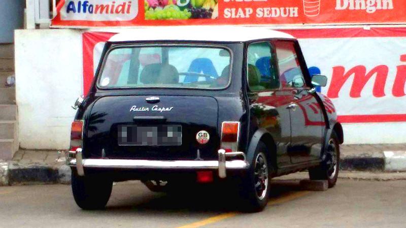 Morris Mini Austin Seven Mini Cooper Mobil Motor Lama