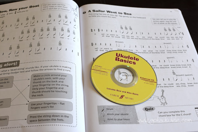 Ukulele Basics Book cover inside
