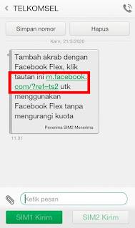 Cara Facebook Gratis di Telkomsel Menggunakan Facebook Flex