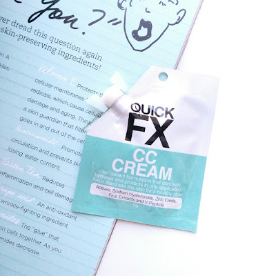 QUICKFX CC Cream Review