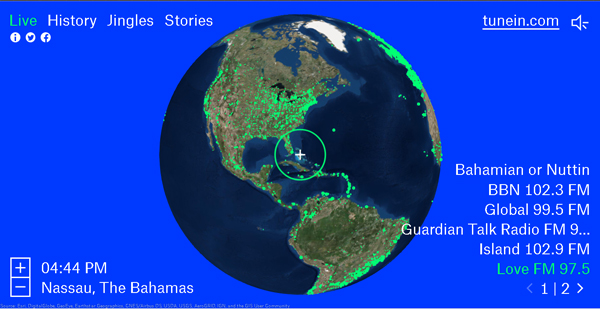 Listen To Radio Stations From Around The World With Radio Garden. Easy To  Use Interface. Just Spin The Globe To A Country Of Your Choice, Press The  Green ...