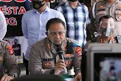 Polresta Bandar Lampung Gelar Press Conference Dugaan Prostitusi Online Libatkan Artis FTV