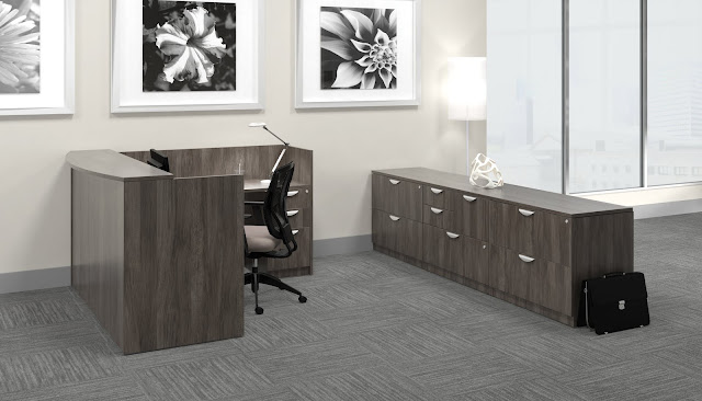 superior laminate reception furniture