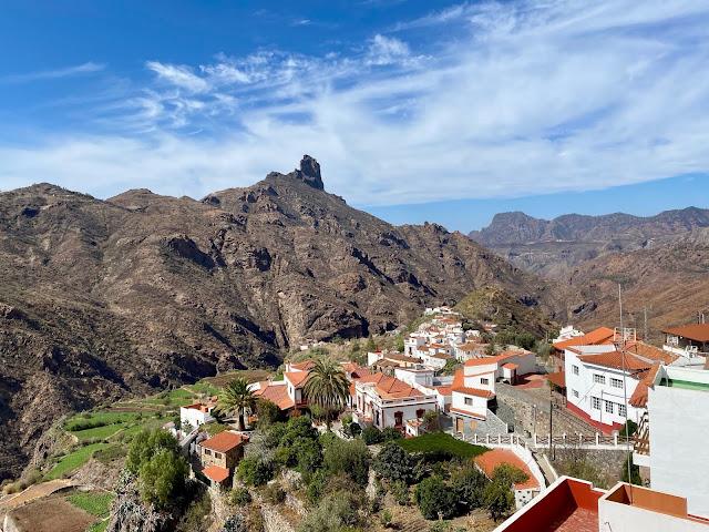 Mountain views from Tejeda, Gran Canaria, Spain