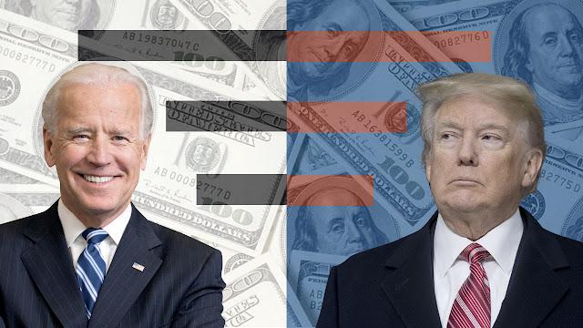 El dólar sube previo debate Trump y Biden
