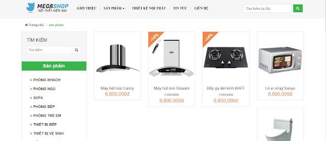 template blogspot thiết kế nội thất miễn phí