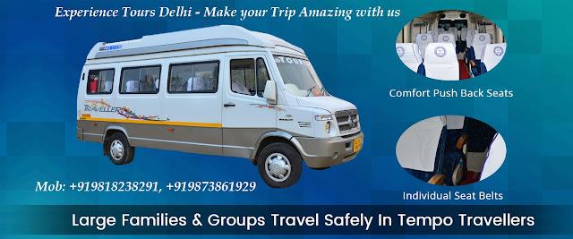 9 seater Tempo Traveller on Rent in Delhi – Delhi Tempo Traveller