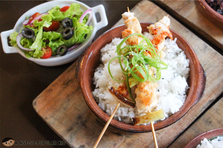 Chicken Yakitori of Hops & Brews, Makati