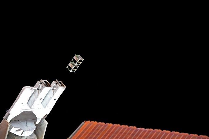 Ghana satellite into space launched