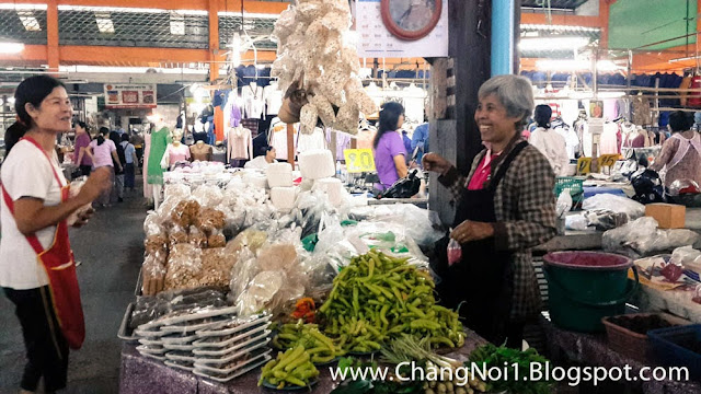 Nan Morning Market in Nan - Thailand