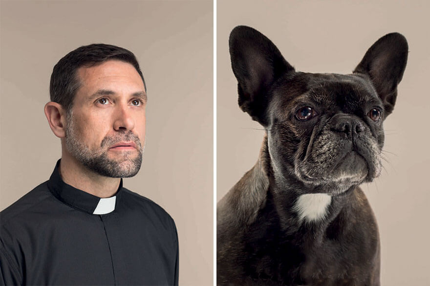 Photographer Puts Dogs Side By Side With Their Owners And Their Resemblance Is The Cutest Thing We Saw Today