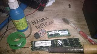 Cara Service Ram dan Memperbaiki Kerusakan Pada Konektor RAM