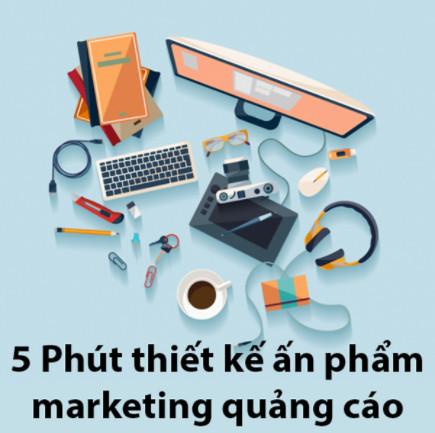 Tick Edu - 5 Phút thiết kế ấn phẩm marketing quảng cáo ebook PDF-EPUB-AWZ3-PRC-MOBI
