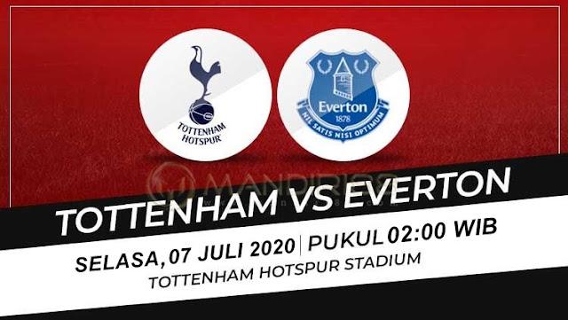 Prediksi Tottenham Hotspur Vs Everton, Selasa 07 Juli 2020 Pukul 02.00 WIB @ Mola TV