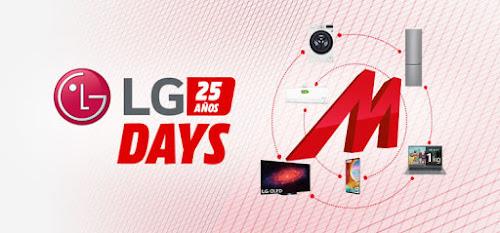 Top 10 ofertas LG Days de Media Markt