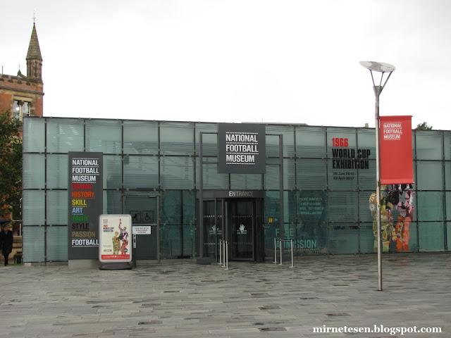 Музей футбола в Манчестере
