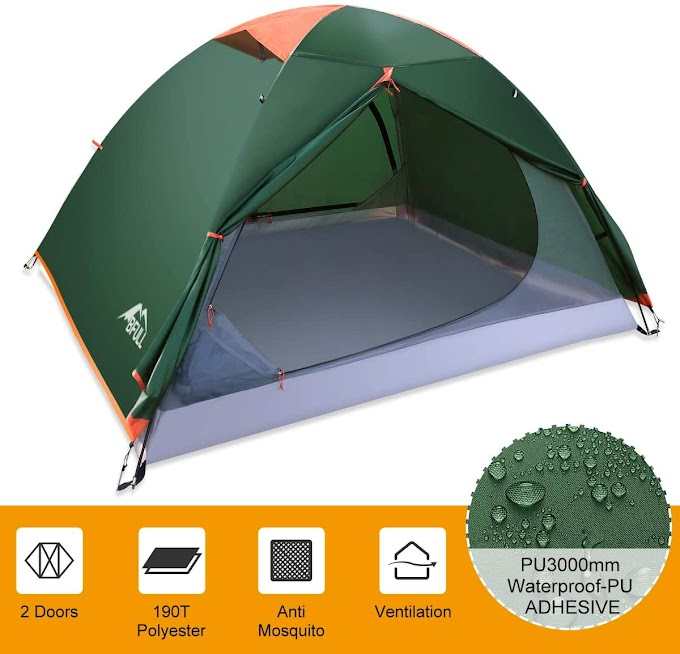 50% OFF Camping Tents 2-3 Person Lightweight