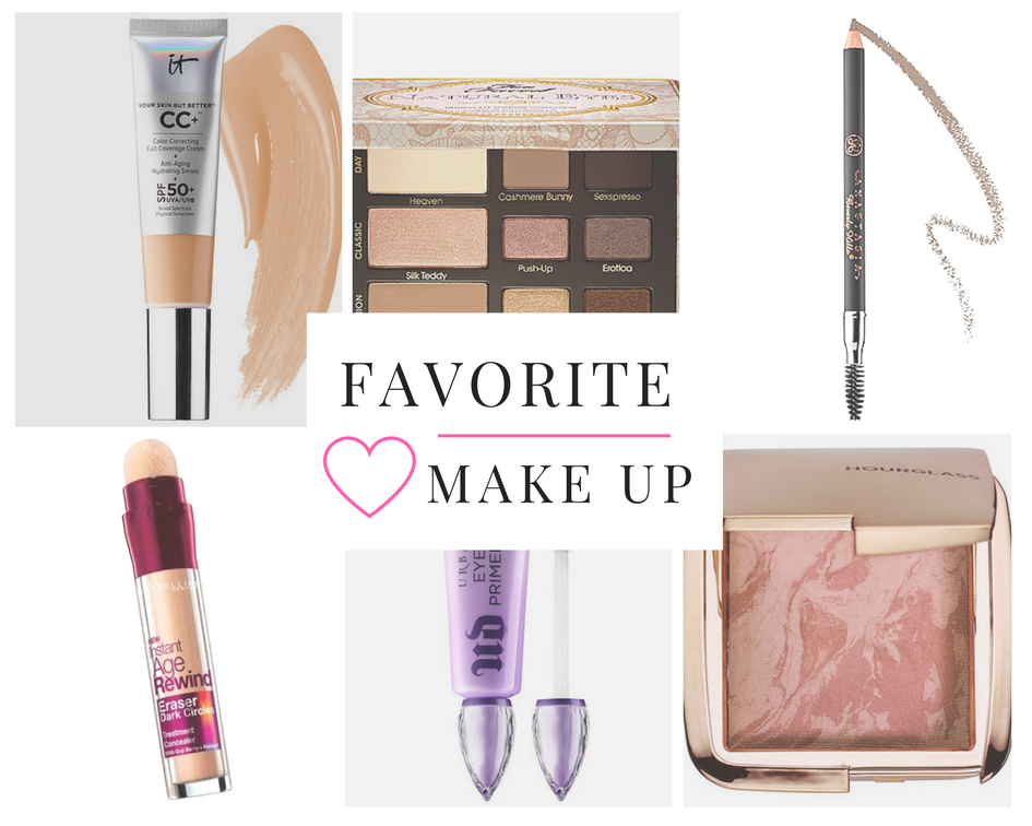 Favorite Make Up Products